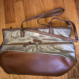 Michael Kors Tan Nylon Purse